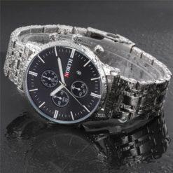 Zegarek North Iceland Steel czarny 2
