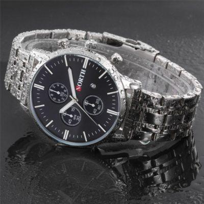 Zegarek North Iceland Steel czarny 10