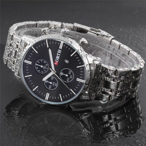Zegarek North Iceland Steel czarny