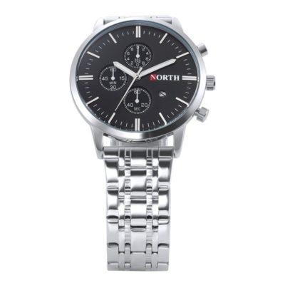 Zegarek North Iceland Steel czarny 8