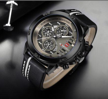 Zegarek Naviforce Maverick biały 10