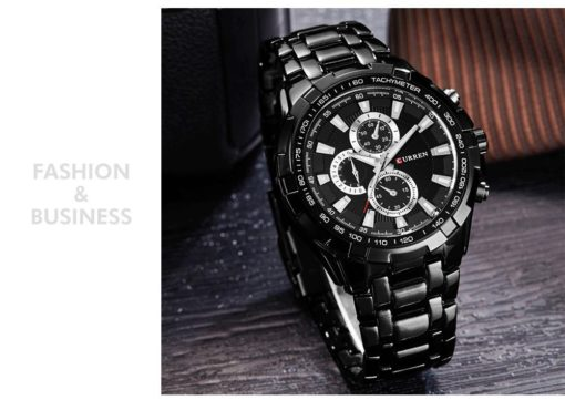Zegarek Curren Harrison czarny
