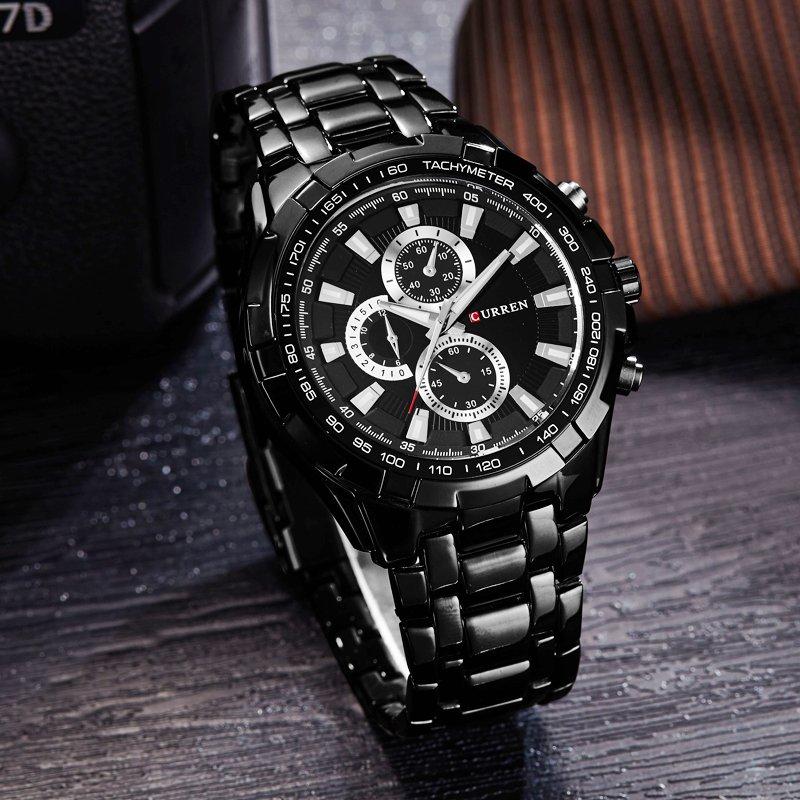 Zegarek Curren Harrison czarny 6