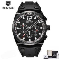 Zegarek Benyar Canaveral cały czarny