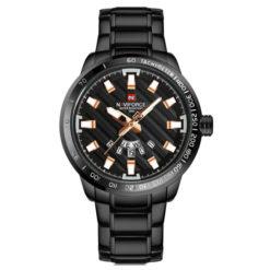 Zegarek Naviforce Patriot czarny-złoty