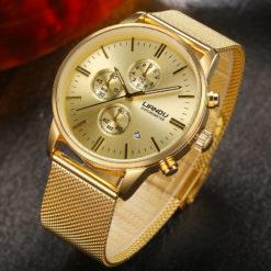 Zegarek Liandu Royal Oak złoty
