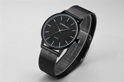 Zegarek Crrju Slim czarny