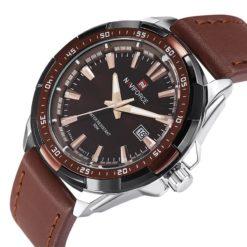 Zegarek Naviforce Harry srebrny czarny