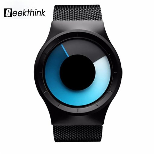 Zegarek Geekthink Creative czarny 1