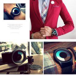 Zegarek Geekthink Creative czarny 10