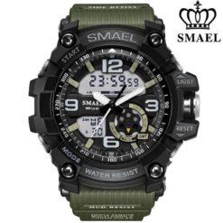 Zegarek Smael Military zielony
