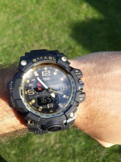 Zegarek Smael Camouflage złoty 7