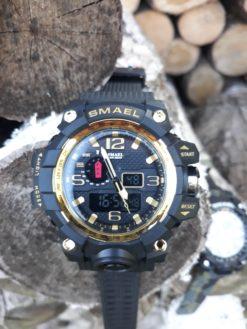 Zegarek Smael Camouflage złoty 5