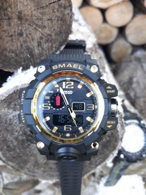 Zegarek Smael Camouflage złoty