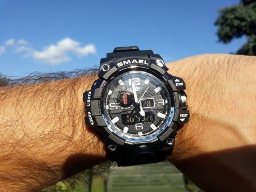 Zegarek Smael Camouflage biały