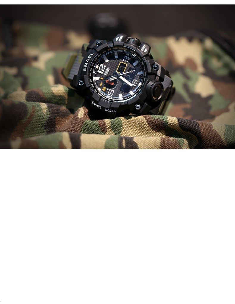 Zegarek Smael Camouflage moro 8