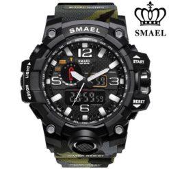 Zegarek Smael Camouflage moro