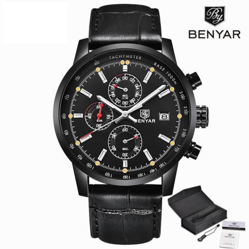 Zegarek Benyar cały czarny BY5102