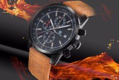 Zegarek Benyar czarno-czarny BY5102