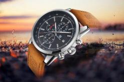 Zegarek Benyar srebrno-czarny BY5102 4