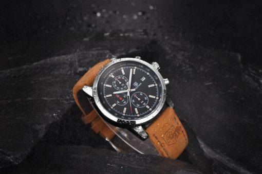Zegarek Benyar srebrno-czarny BY5102