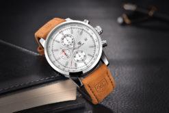 Zegarek Benyar srebrno-srebrny BY5102