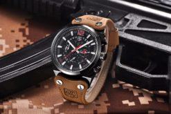 Zegarek Benyar Blackbird czarny-czerwony BY5112 1