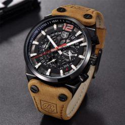 Zegarek Benyar Blackbird czarny-czerwony BY5112 4