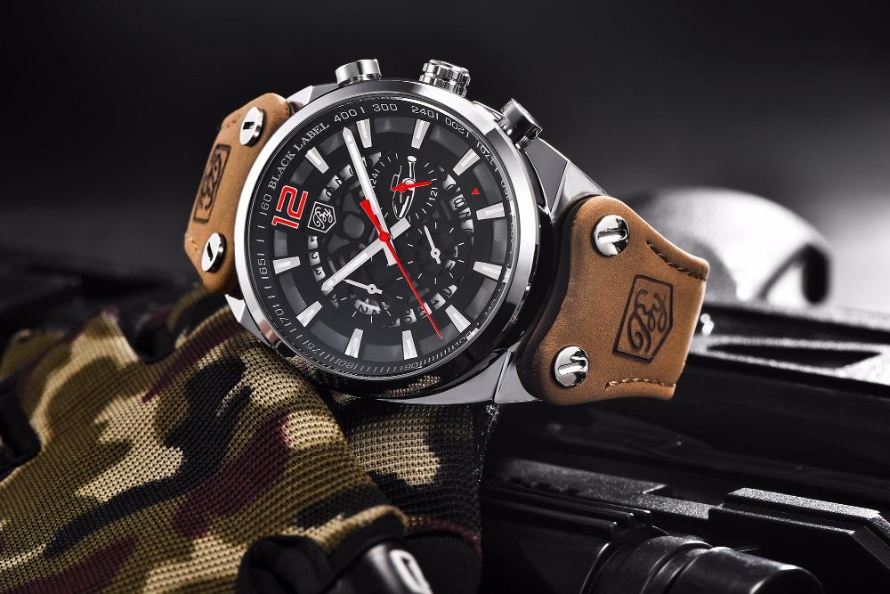 Zegarek Benyar Blackbird czarny-czerwony BY5112 6