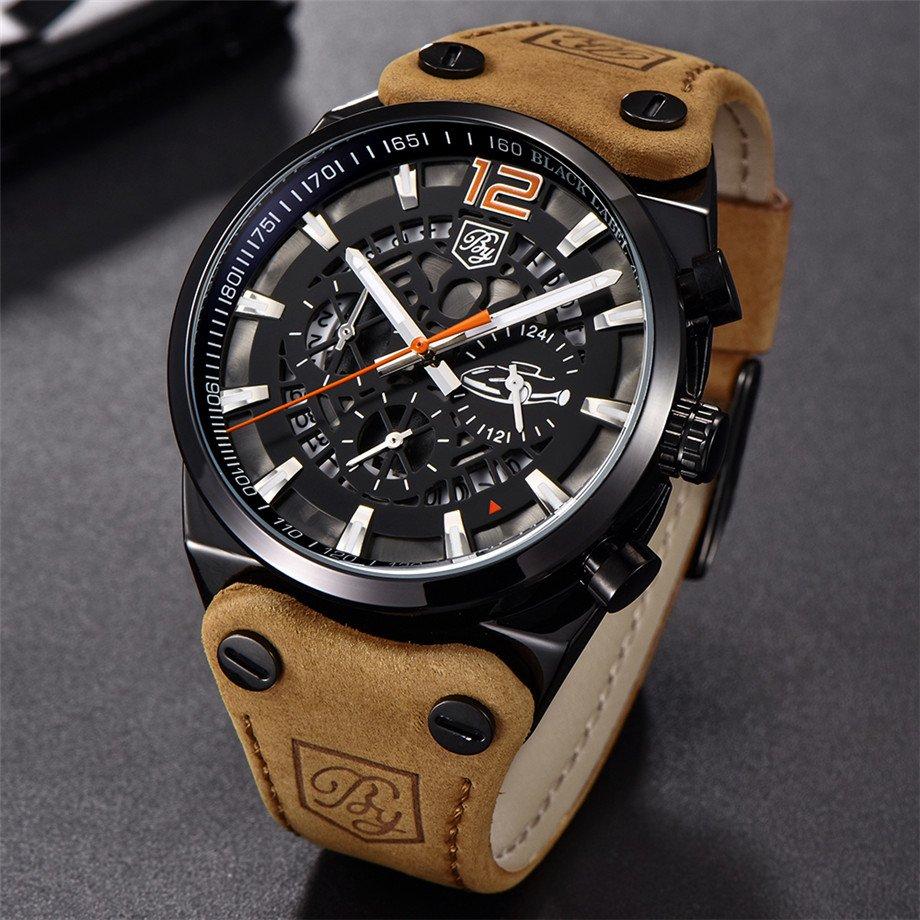 Zegarek Benyar Blackbird czarny-pomarańczowy BY5112 9