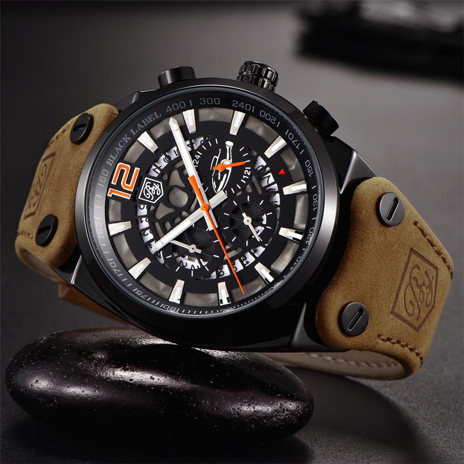 Zegarek Benyar Blackbird czarny-pomarańczowy BY5112 10