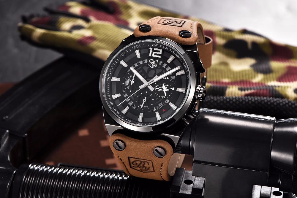 Zegarek Benyar Blackbird czarny-srebrny BY5112 5