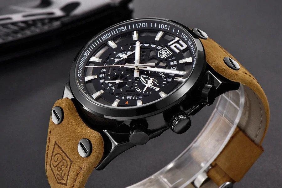 Zegarek Benyar Blackbird czarny-srebrny BY5112 6
