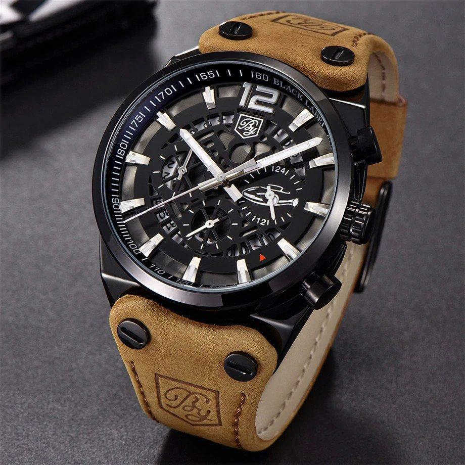 Zegarek Benyar Blackbird czarny-srebrny BY5112 7