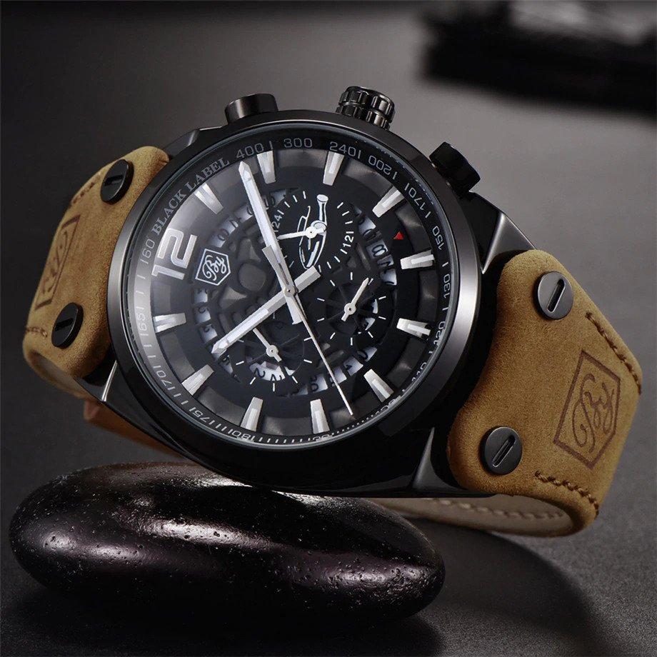 Zegarek Benyar Blackbird czarny-srebrny BY5112 8
