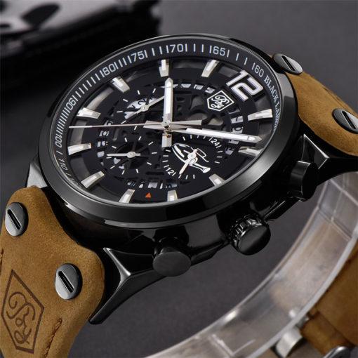 Zegarek Benyar Blackbird czarny-srebrny BY5112