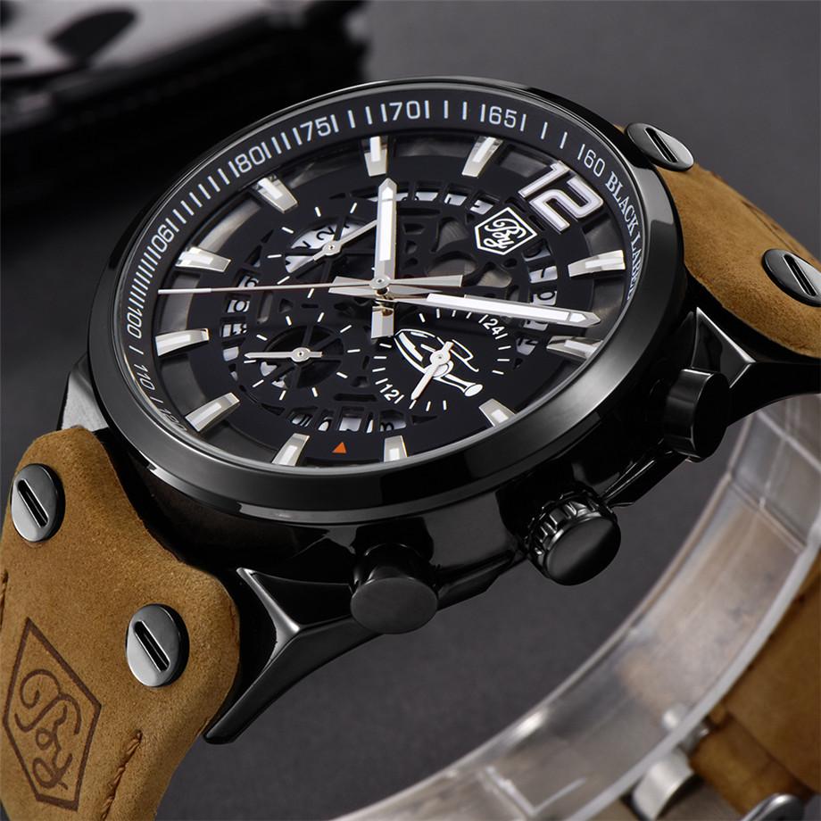 Zegarek Benyar Blackbird czarny-srebrny BY5112 9