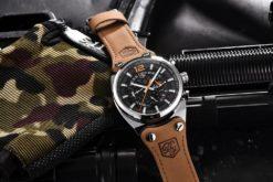 Zegarek Benyar Blackbird srebrny-pomarańczowy BY5112