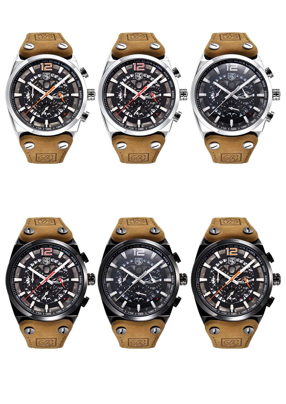 Zegarek Benyar Blackbird czarny-srebrny BY5112 11