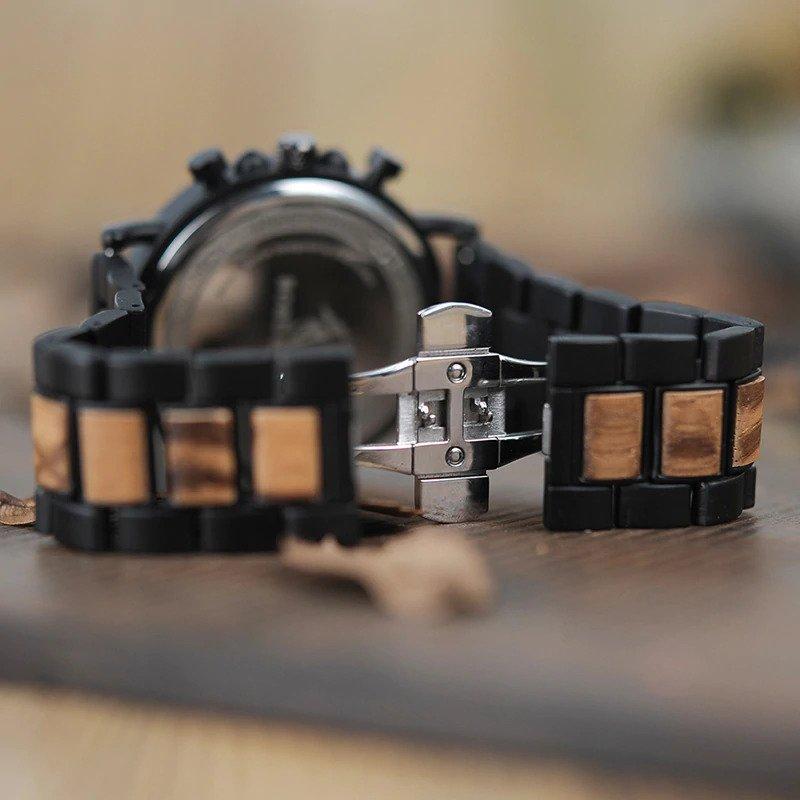 Zegarek drewniany Bobo Bird Max P09-1 bransoleta 12