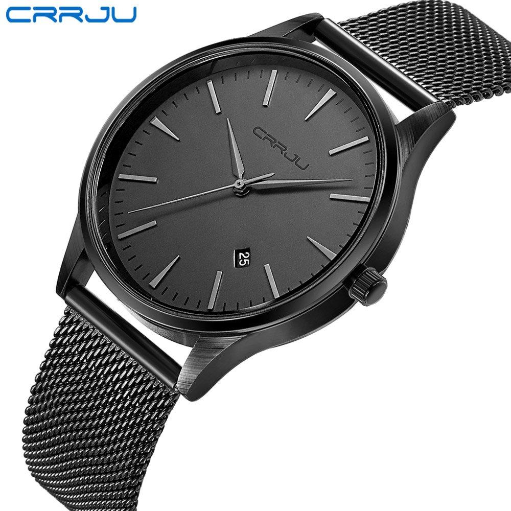 Zegarek Crrju Slim czarny 4