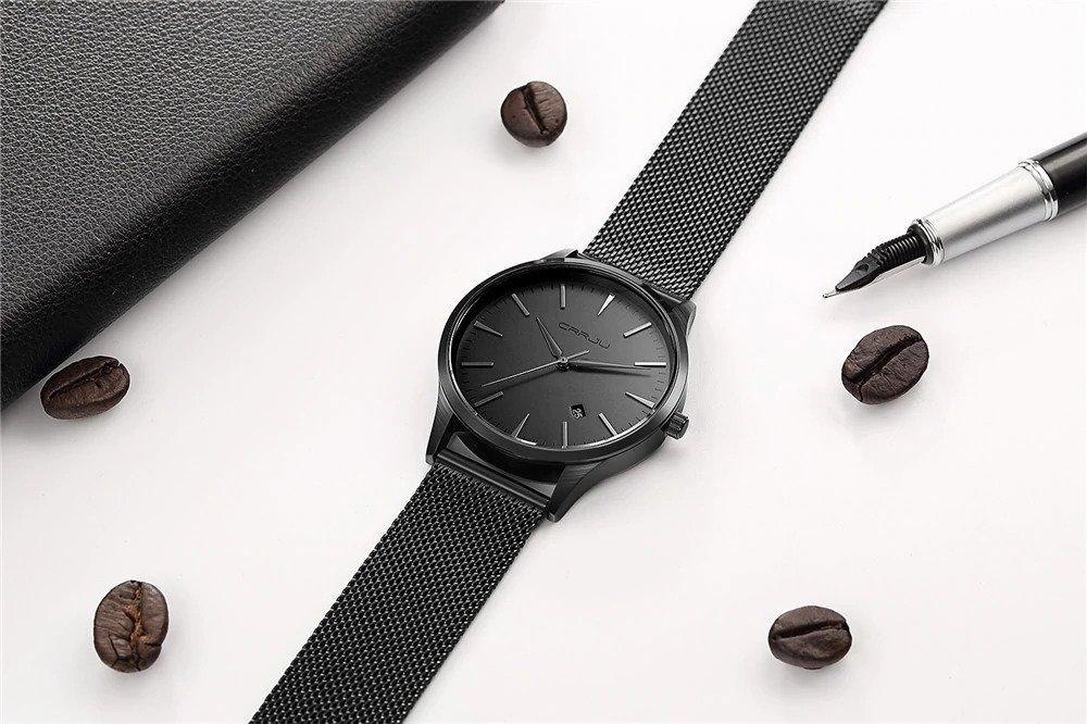 Zegarek Crrju Slim czarny 5