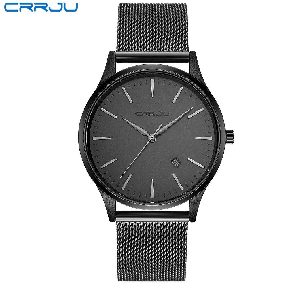 Zegarek Crrju Slim czarny 7