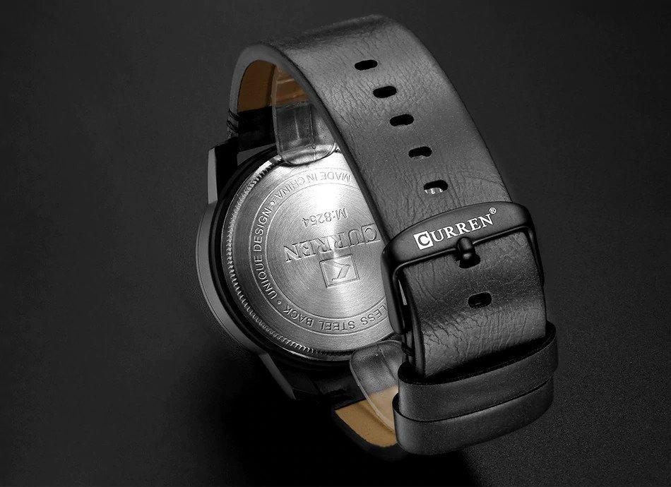 Zegarek Curren Beets czarny czerwony 13