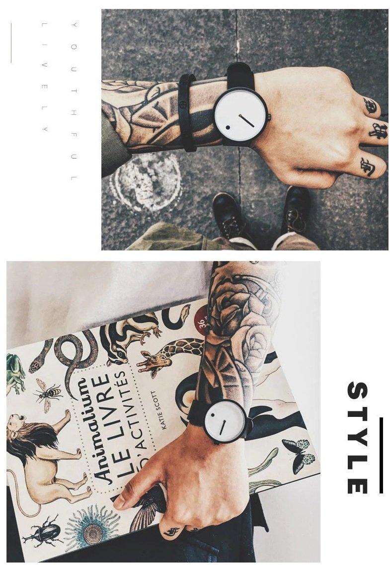 Zegarek Geekthink Fashion biały 15