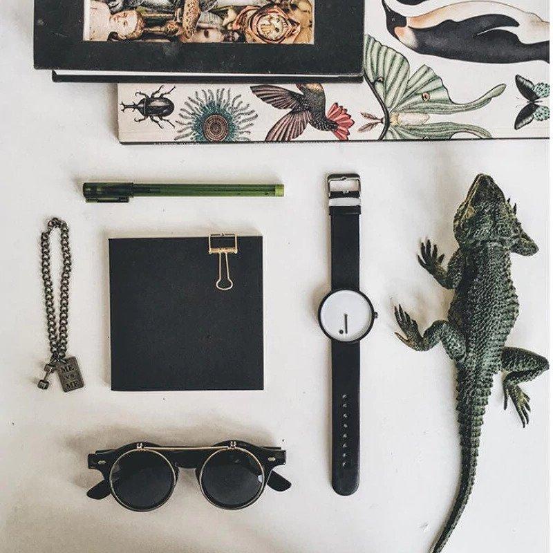 Zegarek Geekthink Fashion biały 9