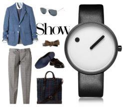 Zegarek Geekthink Fashion biały 4