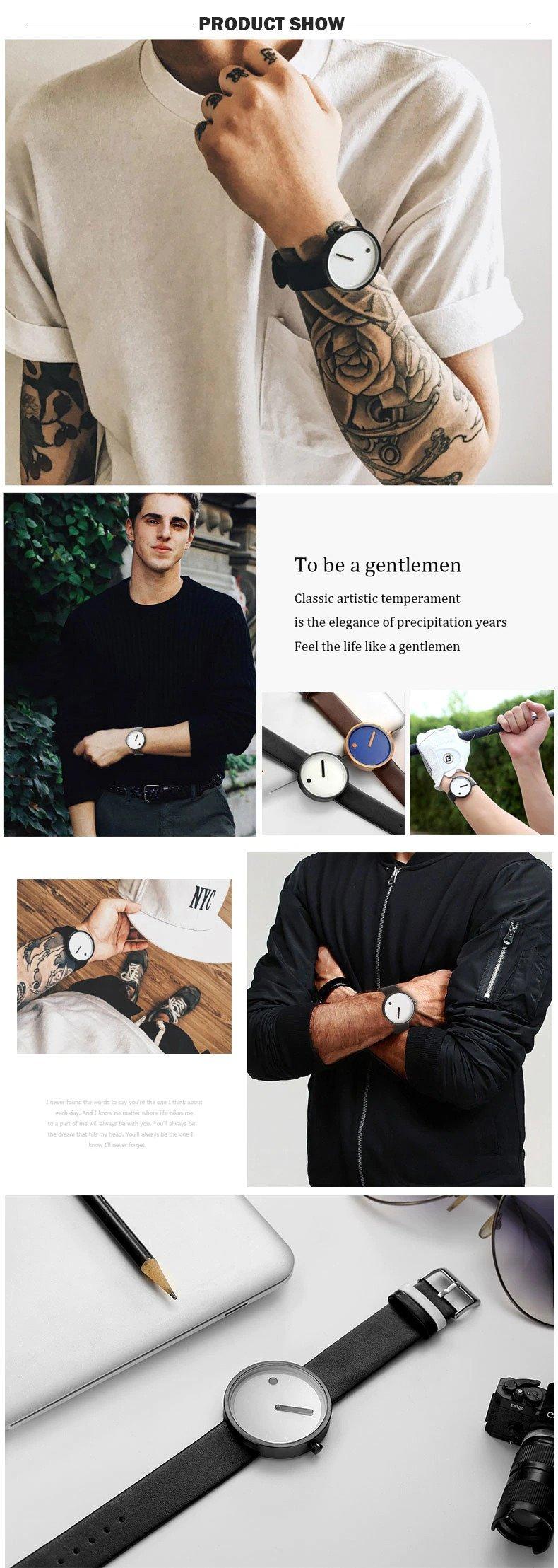 Zegarek Geekthink Fashion biały 14