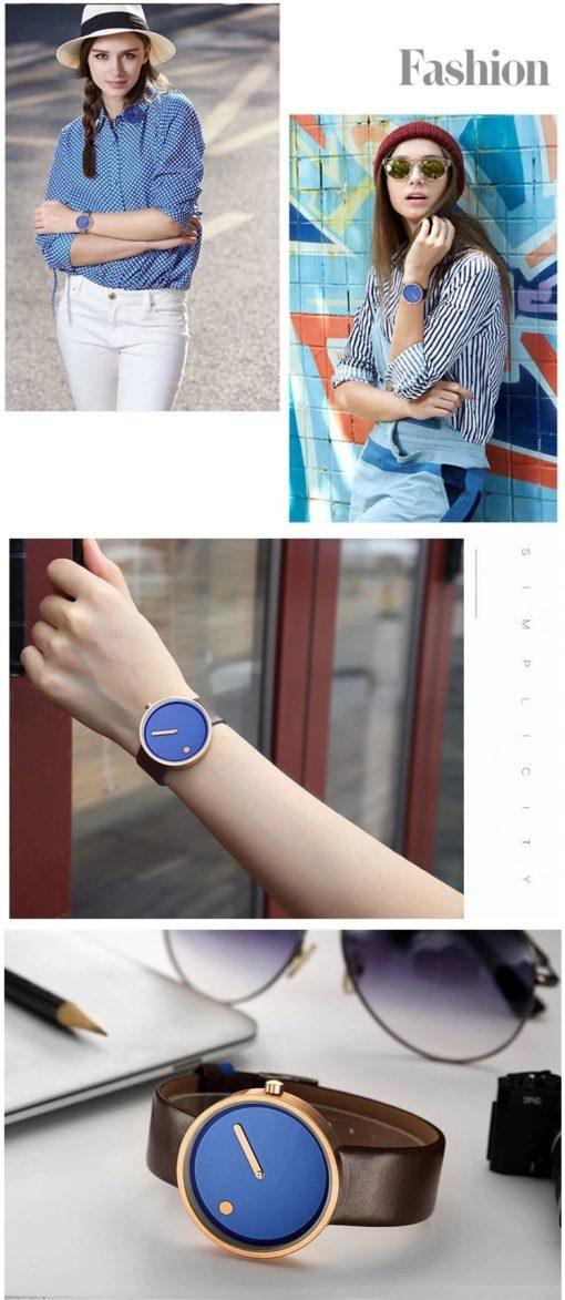 Zegarek Geekthink Fashion niebieski 3
