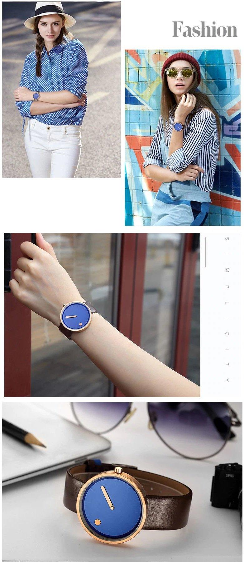 Zegarek Geekthink Fashion niebieski 11